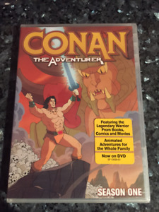 CONAN the ADVENTURER - Season 1 of the animated show New on DVD