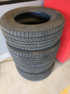 Selling new tires