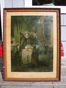 """Antique Print """" Home From The War date 1900's"""