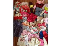 Girls mixed joblot 75 items