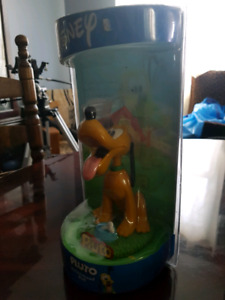 DISNEY PLUTO BOBBLEHEAD DOLL MINT CONDITION COLLECTABLE