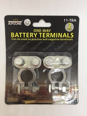 2 Pc Topzone Replacement Battery Terminal Top Post