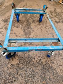 Industrial dolly trolley