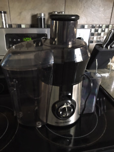 Big Mouth Stainless Steel Juicer