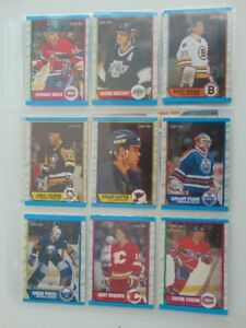 Cartes Hockey O pee chee 1989 divers (30)