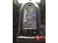 Brand New Dunlop Bicycle D Lock inc 2 keys. U Lock.