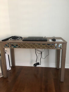 *BRAND NEW* OAK WOOD DESK / CONSOLE TABLE