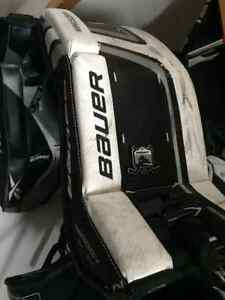 "Bauer prodigy youth 24"" goalie pads"