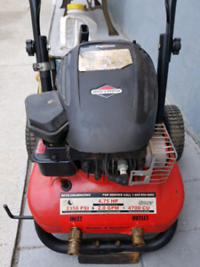Gas power washer for sale