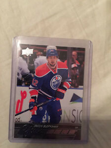 Anton Slepyshev Young Guns Rookie Card Oilers