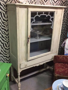 Vintage China Cabinet - Painted London Ontario image 1