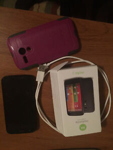 MINT Telus Moto G Cell Phone with Otter Box