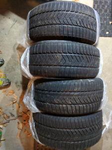 4 pneus Pirelli Sottozero 3 - 245/40R18 97V