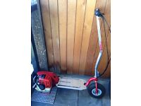 Goped go ped foldable petrol scooter may swap