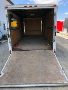 16 FT> TANDEM AXLE TRAILER (PACE)