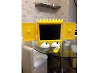 "15"" LCD Bart Simpson TV (no built in freeview)"