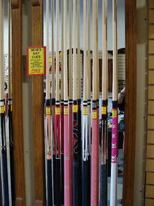 BILLIARD SURPLUS - CLEARANCE CENTRE - KITCHENER!!! CUE CASES Kitchener / Waterloo Kitchener Area image 7