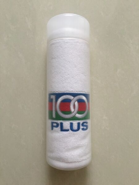 100 Plus hand towel