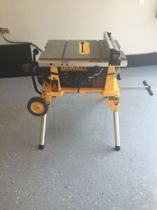 "10"" Dewalt Table Saw Great Condition!"