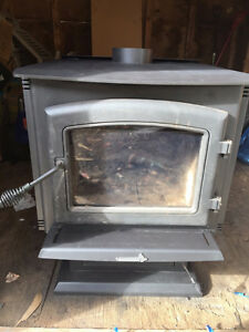 Woodstove and Blower