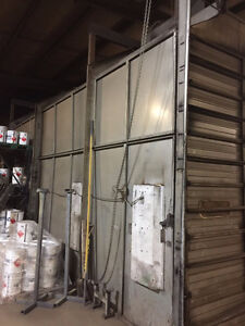 16'x55' Paint Booth - Must Go!