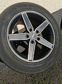 17 inch load rated alloys