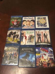 Films BLURAY divers à partir de 5$