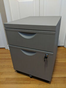 Filing Cabinet with Storage Drawer