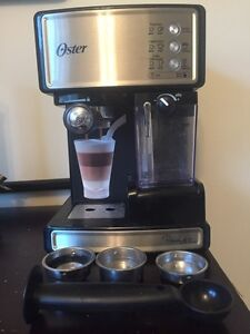 Oster espresso maker with milk frother