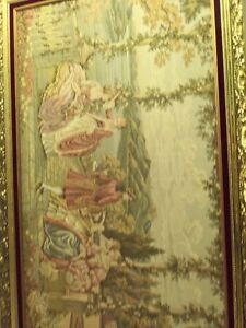 Large Size Nice Framed Beautiful Wall Tapestry
