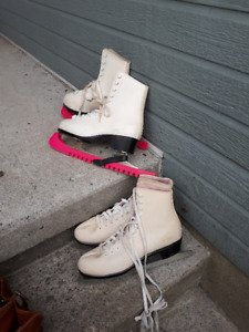 Ladies White Skates $10.00 each