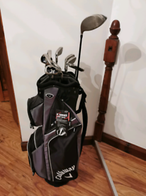 Callaway Golf Clubs Set (4 to PW), Corba Driver, Ping Putter, Balls