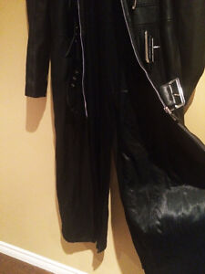 Genuine Leather Trench Coat - New Condition! Oakville / Halton Region Toronto (GTA) image 5