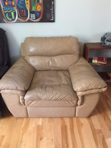 Comfortable leather chair - FREE!