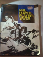 1970-71 ESSO NHL POWER PLAYER SAVER HOCKEY STAMP STICKER BOOK