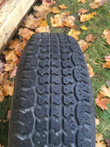 175 80 13 winter tires with rims West Island Greater Montréal image 2