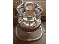 Graco sweetpeace swing seat for babies