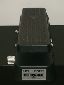 HELL BABE WAH PEDAL