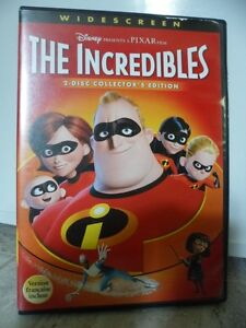 Dvd Disney Pixar LES INCROYABLES (THE INCREDIBLES)