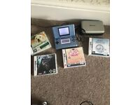 Nintendo DS Console with 4 games