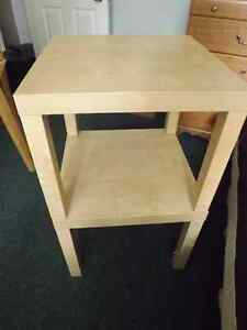 IKEA END TABLES