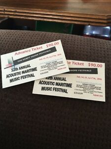 Kempt Shore Music Festival Tickets