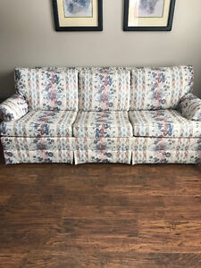 3 Seater couch with Hide-a-Bed