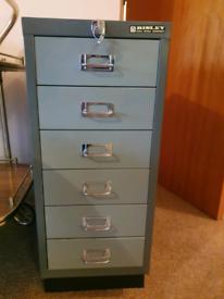 6 drawer lockable filing cabinet