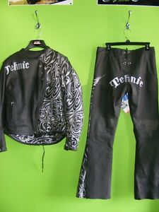 Ladies Teknic Leather Jacket  & Pants- Tribal - NEW at RE-GEAR
