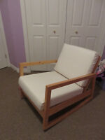 Ikea solid wood rocking chair