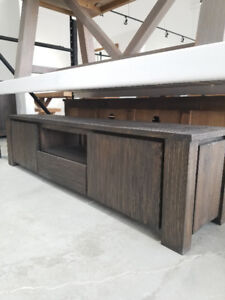 SOLID WOOD DINING SETS (TABLE, BENCH AND BUFFET) 50% OFF – LIMIT