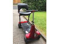Monarch MOBIE SOLAX Folding Mobility Scooter - Boot Portable W/ Spare Battery