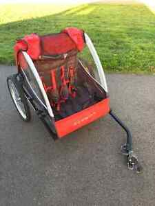 Two Seat Bike Trailer