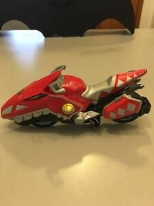 POWER RANGERS DINO THUNDER RAPTOR CYCLE RED RANGER